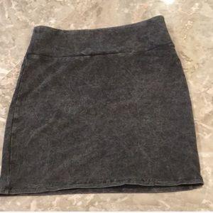 American eagle AE acid wash mini knit mini skirt